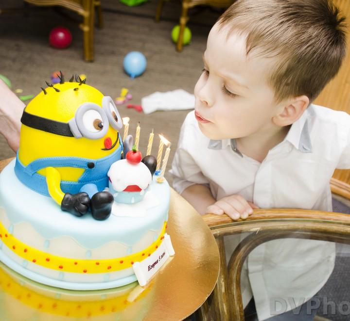 Фотосъемка на Детский день Рождения